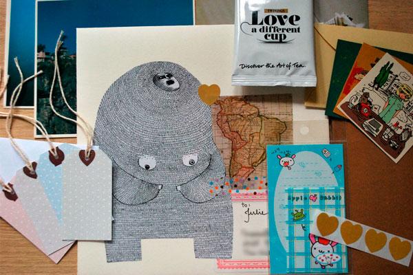 Happy mail do Julie