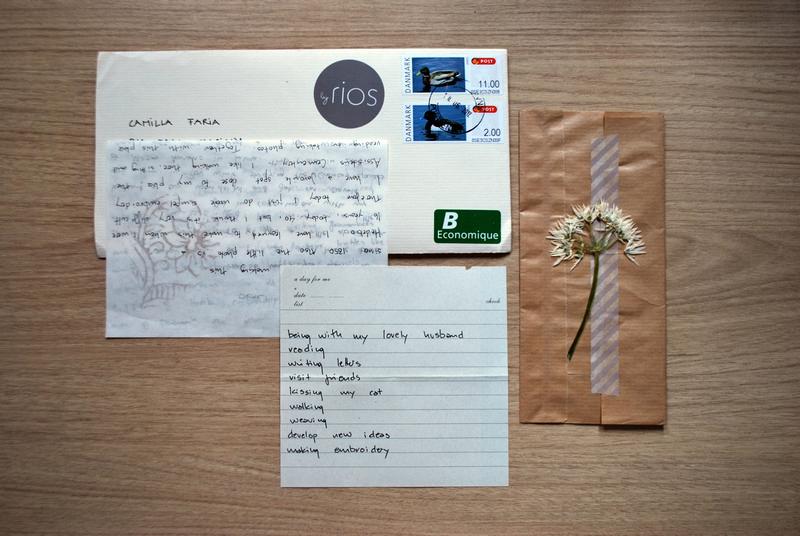 happy mail - Karina