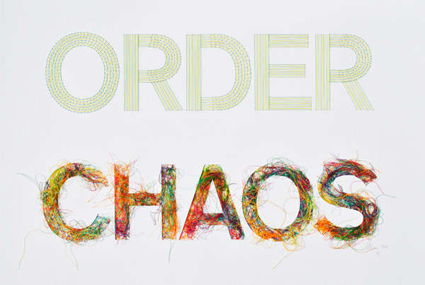 Order Chaos, by Peter Crawley