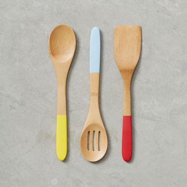 Bamboo Kitchen utensils from West Elm