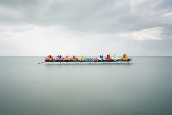 Akos Major Photographic Works: Waterscapes