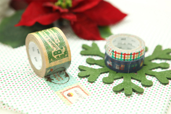 Christmas themed mt masking tape