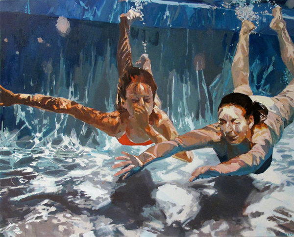 Samantha French painting: Refresh