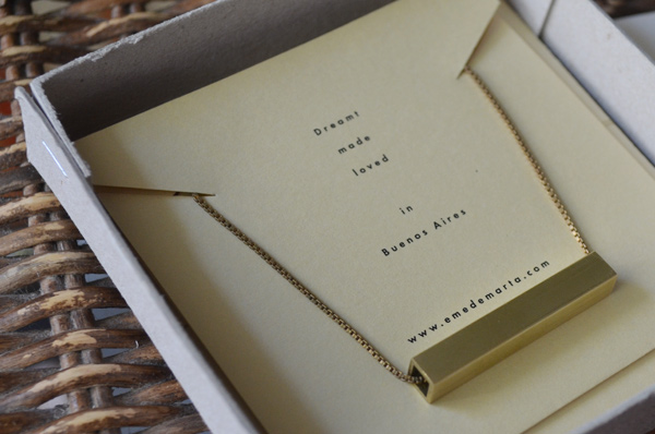 Emedemarta jewelry - packaging