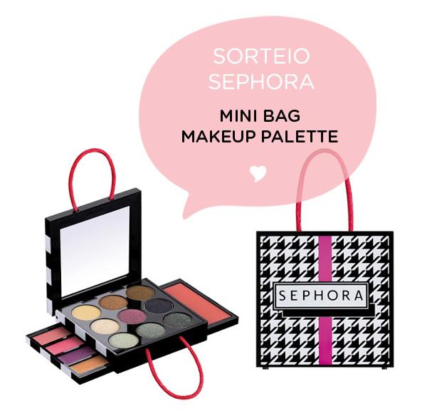 Sorteio Sephora no blog Não Me Mande Flores