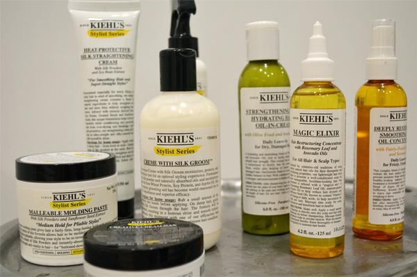 Kiehl's Magic Elixir e outros produtos Kiehl's
