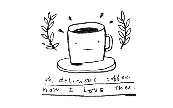 Oh delicious coffee Tattly design
