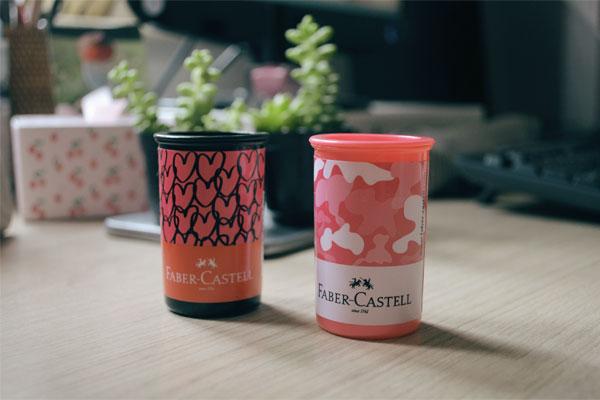 Faber-Castell - apontadores da linha It Girls