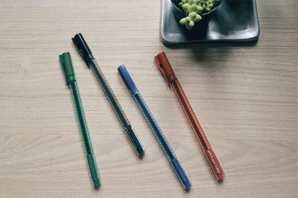 Faber-Castell - canetas Grip Stick