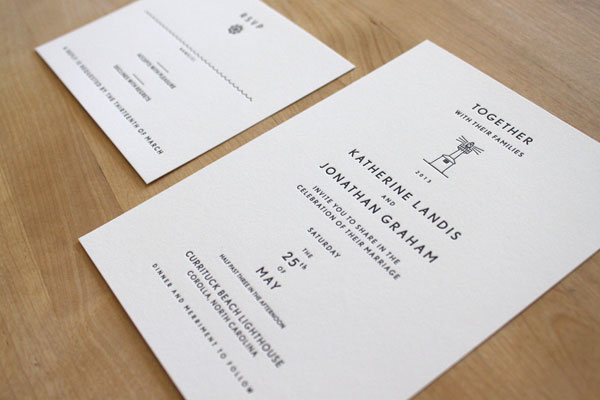 Moontree Letterpress - Heritage Collection - Lighthouse