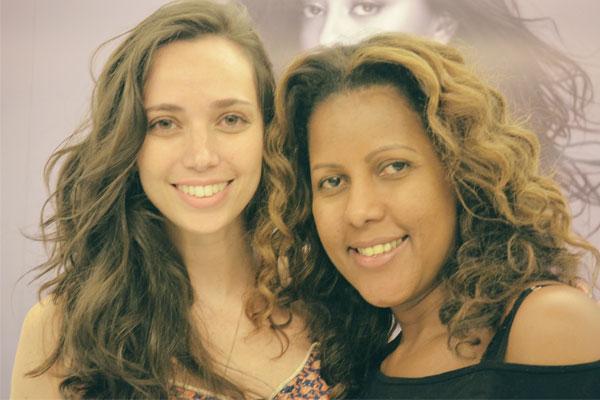 Redken Day - eu e a hairstylist Márcia Valéria
