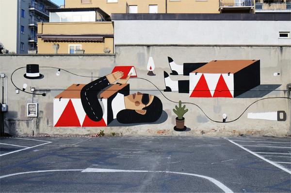 Agostino Iacurci - street artist