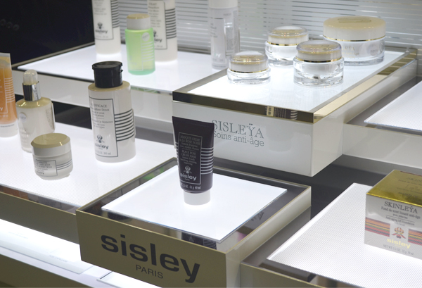 Shampoo Cosméticos - display Sisley