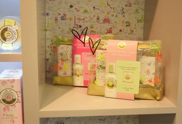 Shampoo Cosméticos - display Roger&Gallet