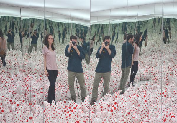 Yayoi Kusama - Infinity Mirror Room