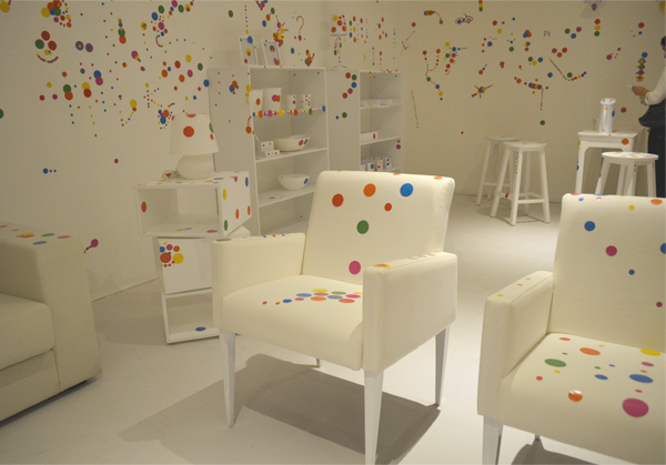 Yayoi Kusama-  The Obliteration Room