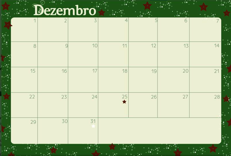 Planejamento mensal - dezembro de 2013