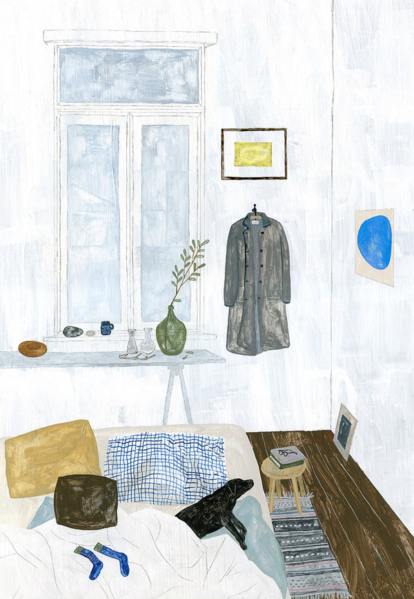 A Room with Coat by Fumi Koike