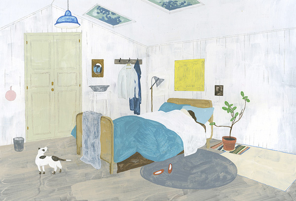 A Room with a Skylight by Fumi Koike