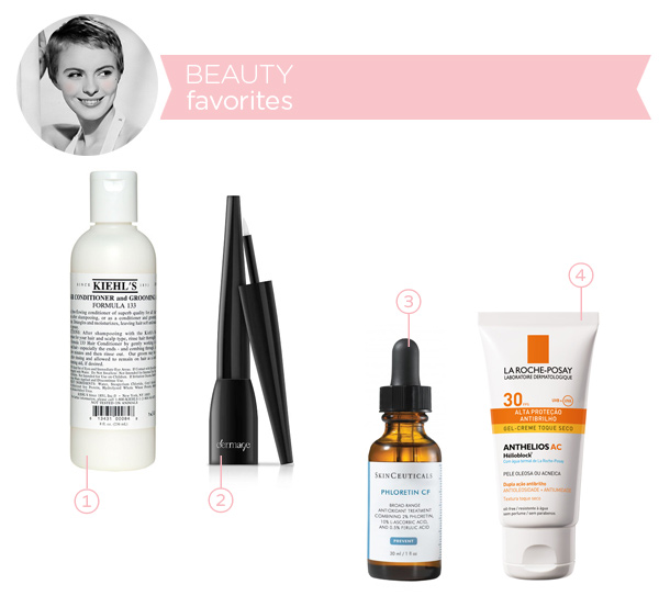 Beauty favorites - january 2014