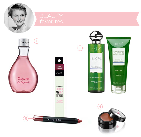 Beauty favorites - february 2014