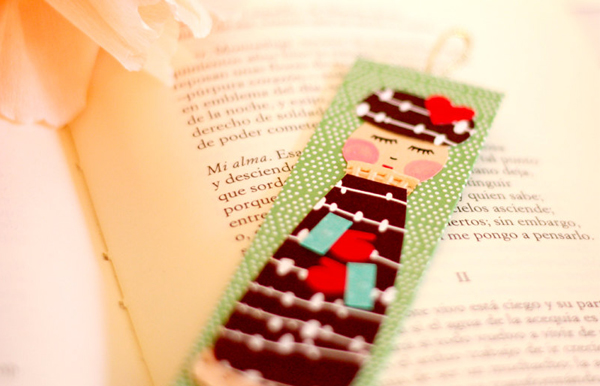Kup Kup Land bookmark