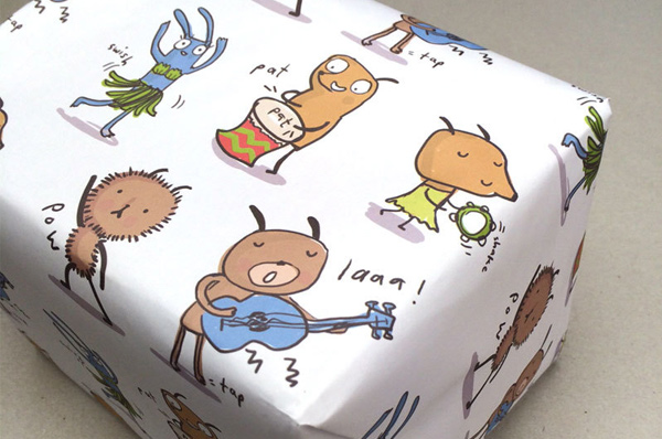 gift wrap - Fun and lively