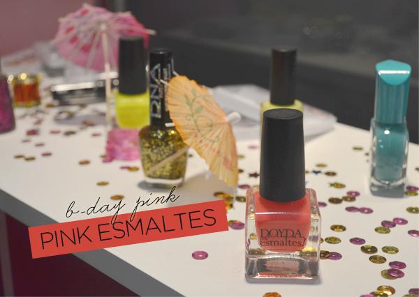 B-Day Pink - Pink Esmaltes