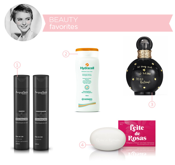 Beauty favorites - march 2014