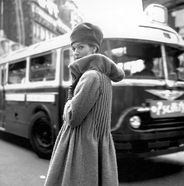 Simone d'Aillencourt, by Georges Dambier (ELLE 1958)