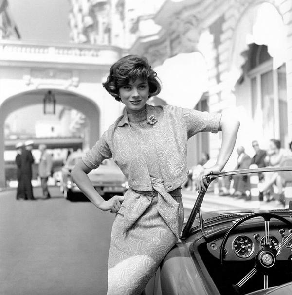 Marie-Hélène Arnaud, by Georges Dambier (1957)