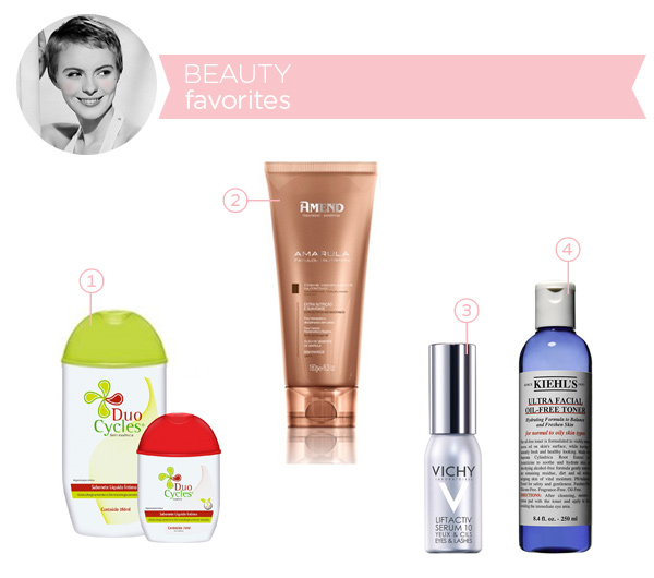 Beauty favorites - april 2014