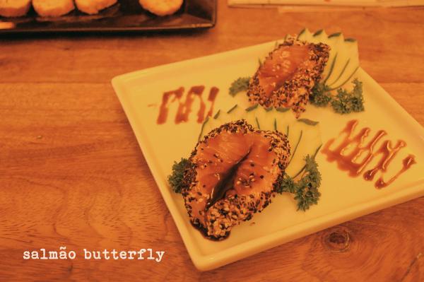 Wasabi Sushi - salmão butterfly