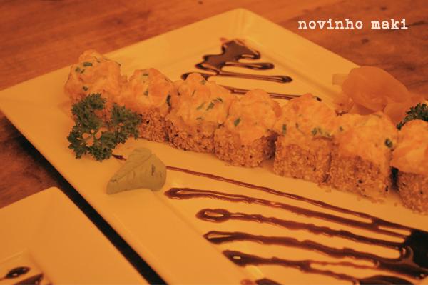 Wasabi Sushi - novinho maki