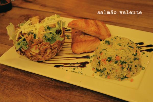 Wasabi Sushi - salmão valente