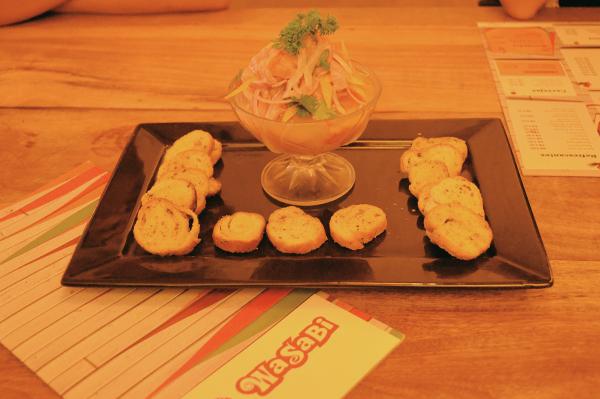 Wasabi Sushi - ceviche wasabi