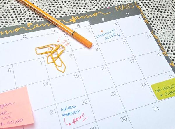 Planejamento mensal - maio 2014