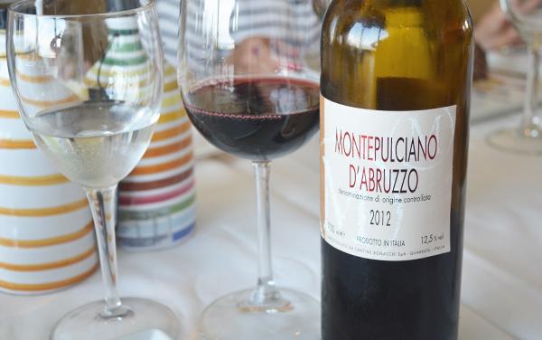 Gabbiano al mare - vinho