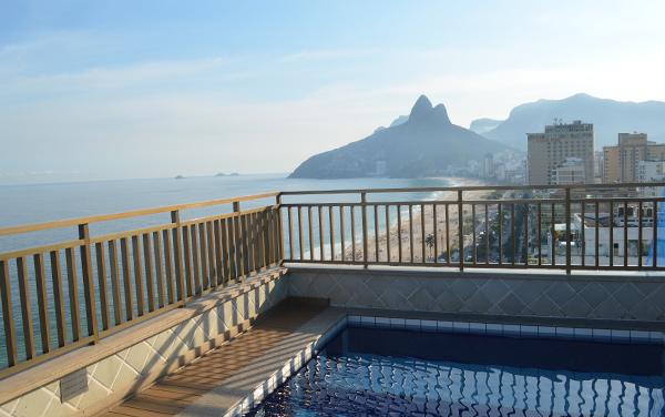 Hotel Sol Ipanema - terraço