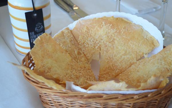 Gabbiano al mare - Pizza Bianca al Parmiggiano