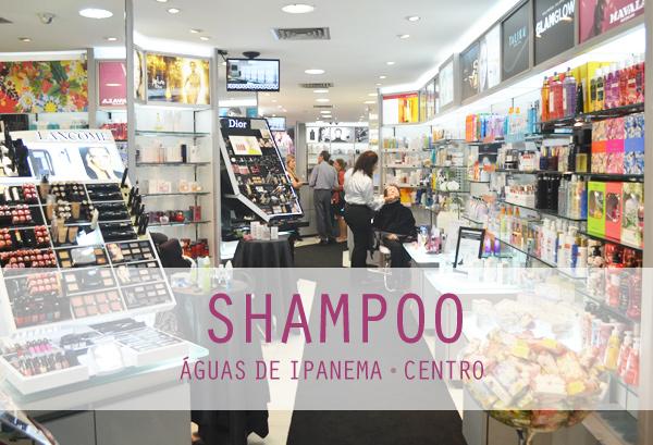 Shampoo Cosméticos Centro