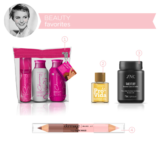 Beauty favorites - june 2014