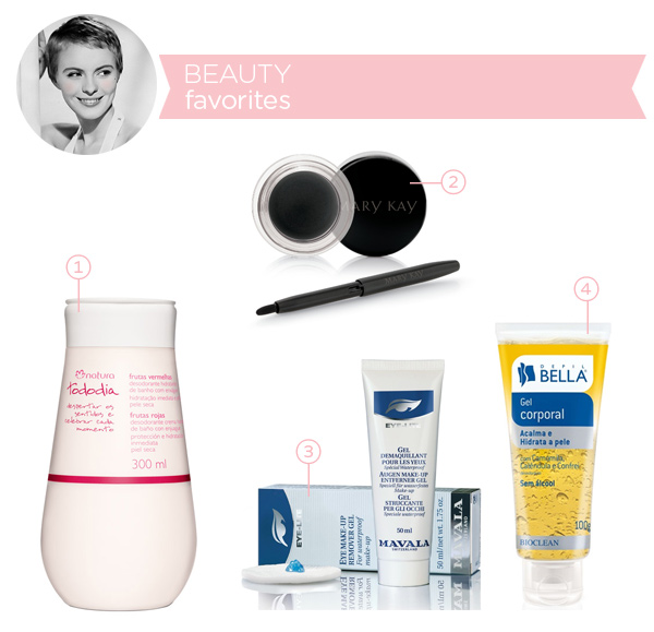 Beauty favorites - july 2014