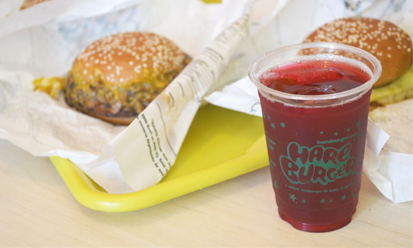 Hareburger - Chá de Hibisco
