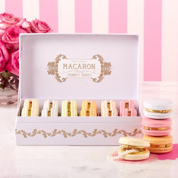 Macaron limoges Trinket Boxes