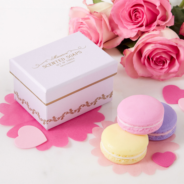 Scented Macaron Soaps in Gift Box