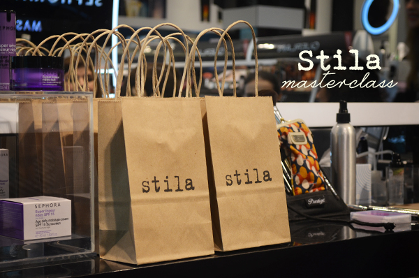 Stila Masterclass na Sephora
