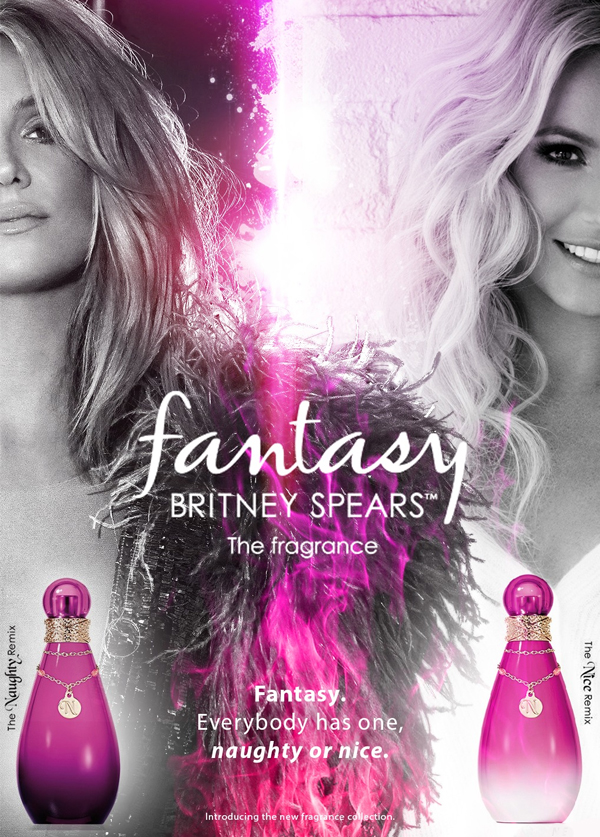 Britney Spears Fantasy Naughty and Nice Remix
