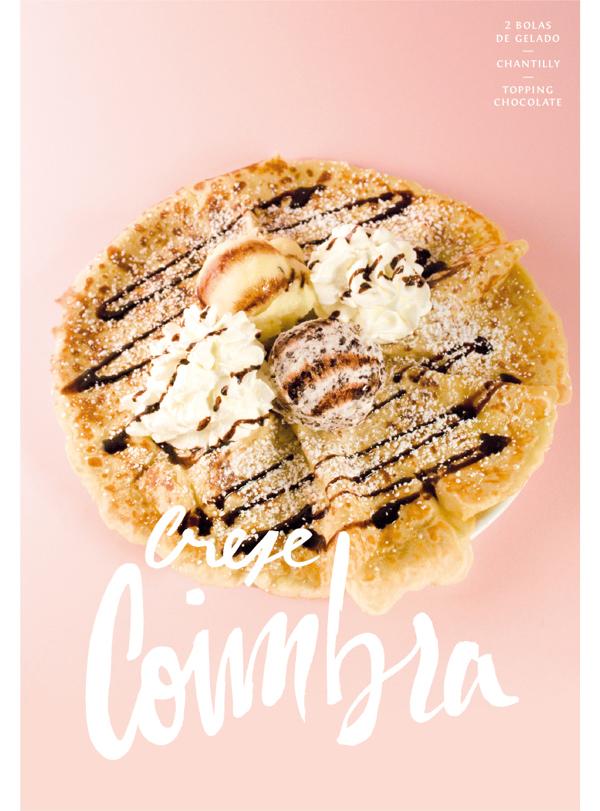 Ice Cream Menu - Crepe Coimbra