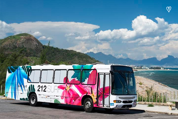 Surf Bus Beach Tour - Carolina Herrera 212 Surf